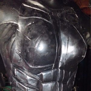 Women's Latex Full Armored Suit